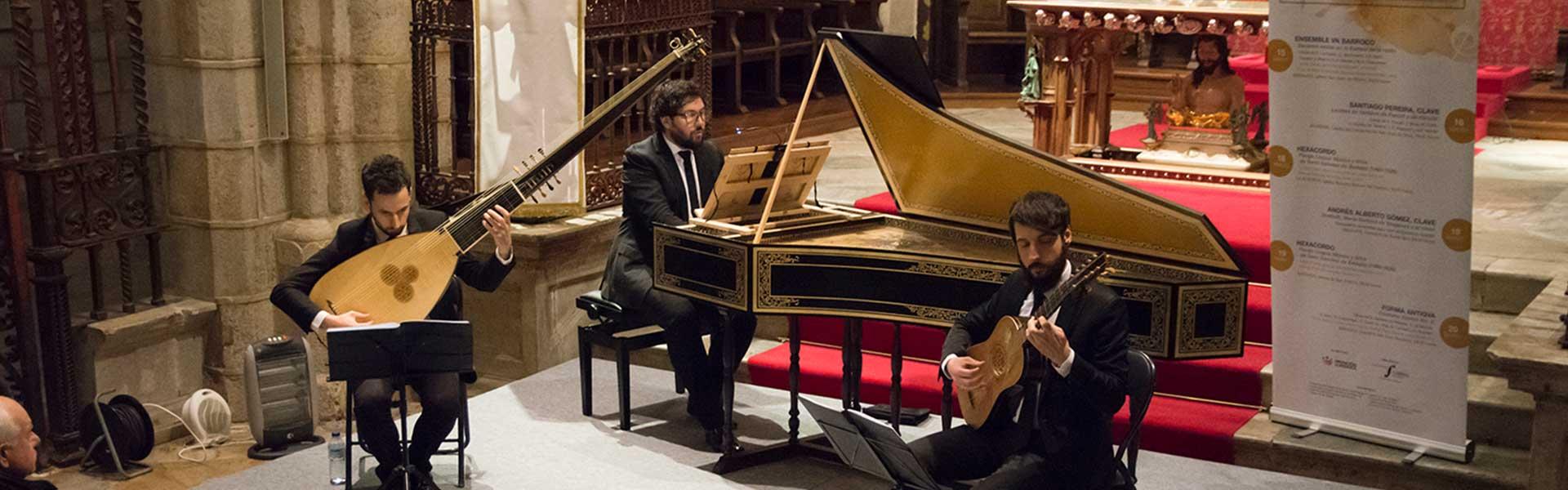 Forma Antiqva. Sociedad Filarmónica de Badajoz © Juan Hernández