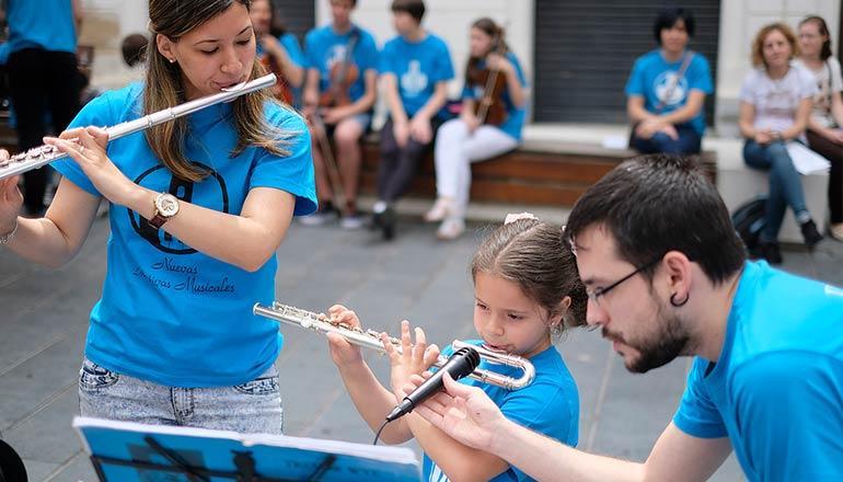 Música en la calle. Sociedad Filarmónica de Badajoz © Juan Hernández