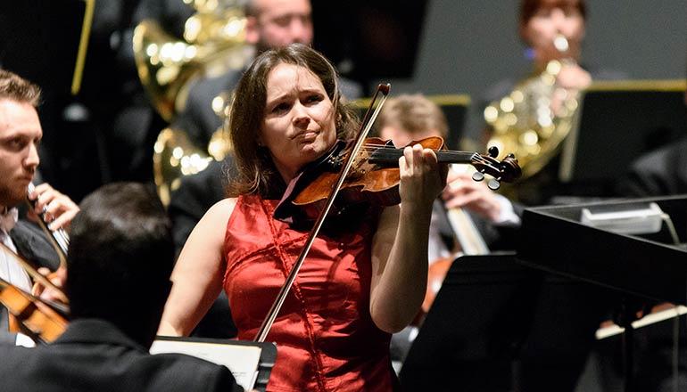 Patricia Kopatchinskaja. Sociedad Filarmónica de Badajoz © Juan Hernández
