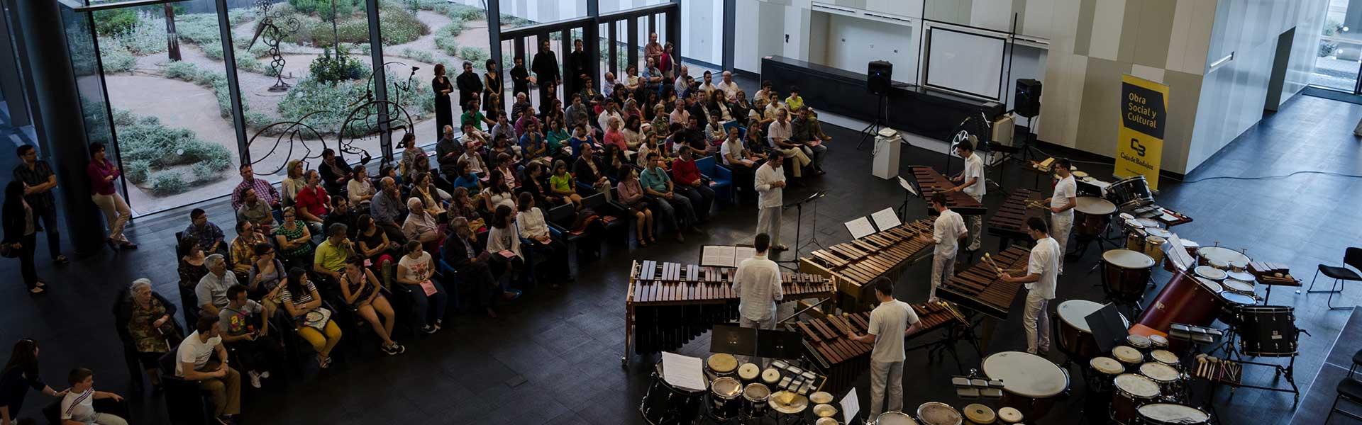 Valencia Percussion Academy. Sociedad Filarmónica de Badajoz © Juan Hernández