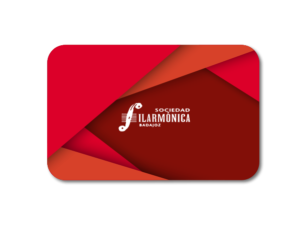 Suscripción de socio a Sociedad Filarmónica de Badajoz