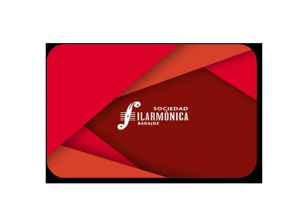 Suscripción de socio de la Sociedad Filarmónica de Badajoz