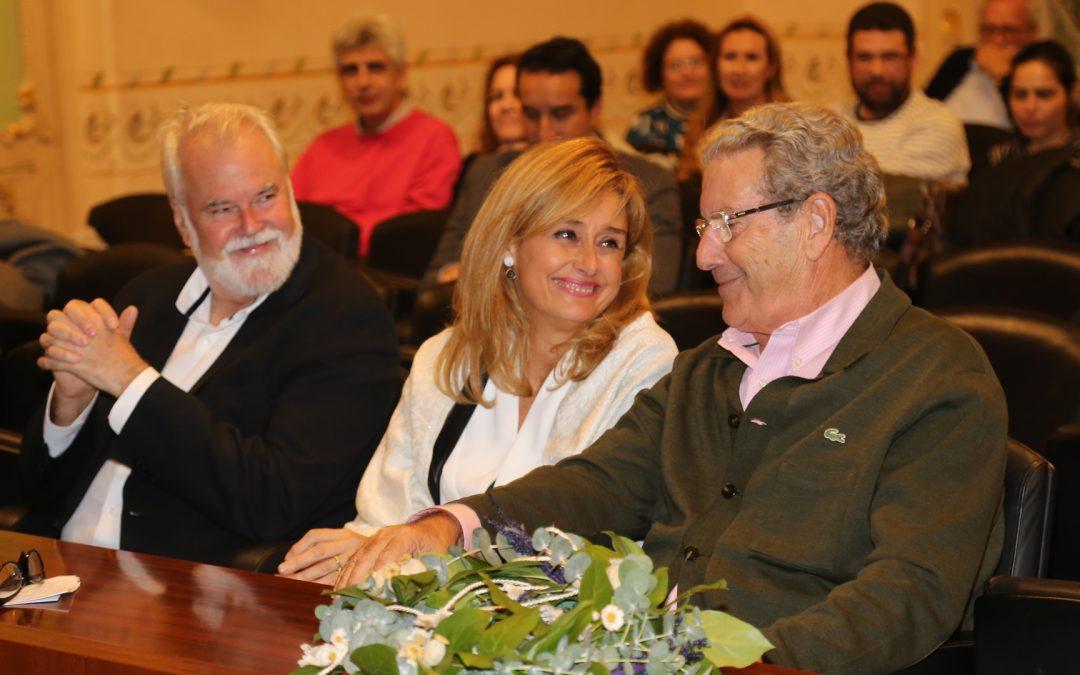 Socios de honor de la Filarmónica de Badajoz