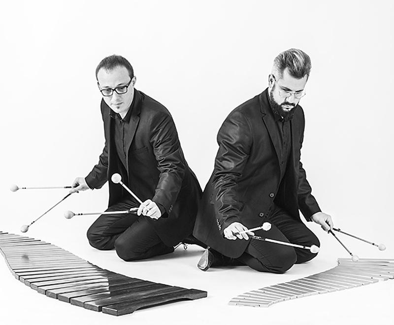 Percusión con Tulam Dúo en Jerez de los Caballeros