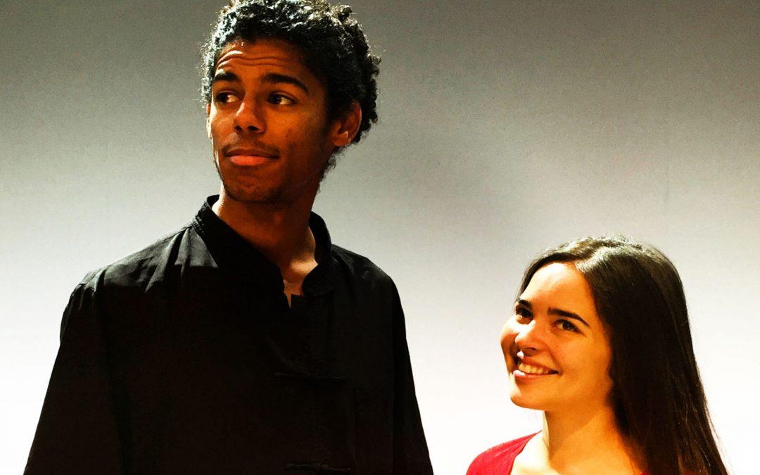 Cristina Salvador & Daahoud Salim en 'Hojas de Álbum' el 11 de diciembre