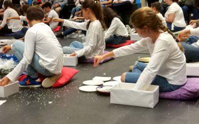 Cristina Cubells lleva el taller 'Itinerantes' al Conservatorio de Almendralejo