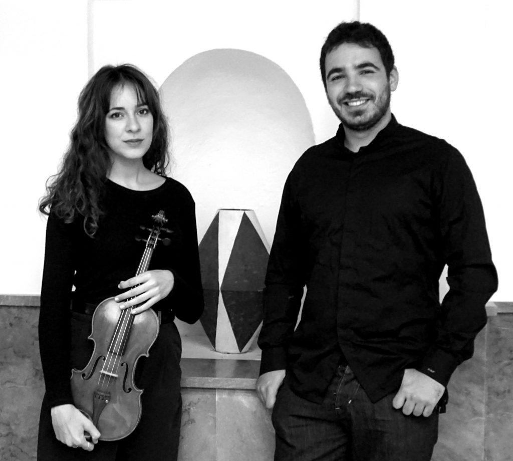 La violinista Ana Isabel García y el pianista Germán García ofrecen un concierto el 4 de noviembre en Badajoz.