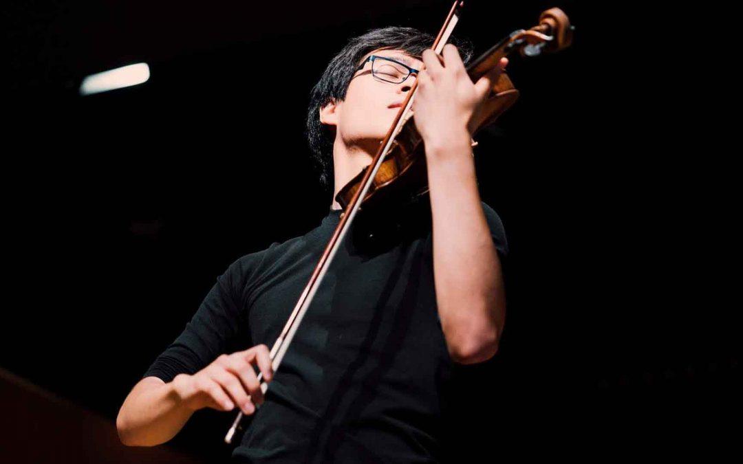 Concierto del violinista Mon-Fu Lee el 9 de diciembre en Diputación de Badajoz