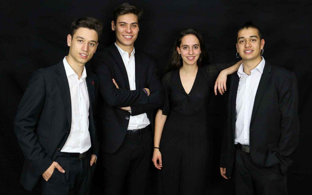 Synthèse Quartet estrena obras de Zárate y Natalia García en Llerena el 11 de diciembre