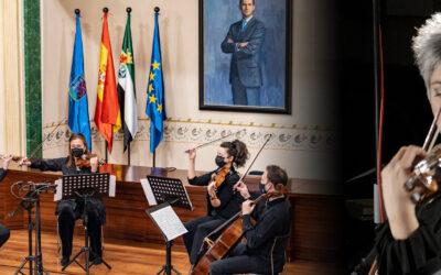 El Cuarteto Amadé y la violista Jenny Guerra el 6 de octubre en la Iglesia de La Concepción